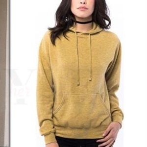NEW Suburban Riot Griffith Hoodie Mustard Yellow